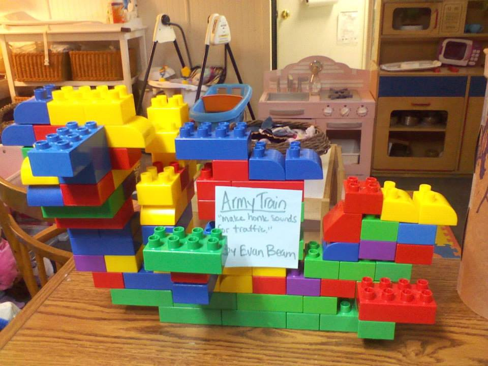building develops creative, dramatic play, and fine motor skills